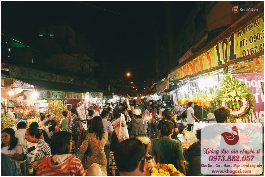 chợ hoa Hồ Thị Kỳ