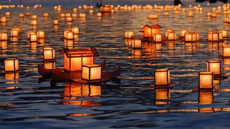 Phong tục thờ cúng cô hồn ở Nhật Bản
