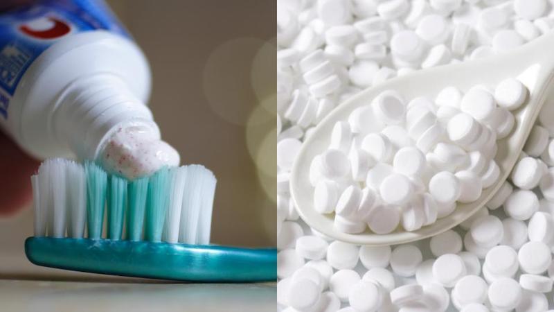 Các sản phẩm chăm sóc răng miệng thường có thêm đường