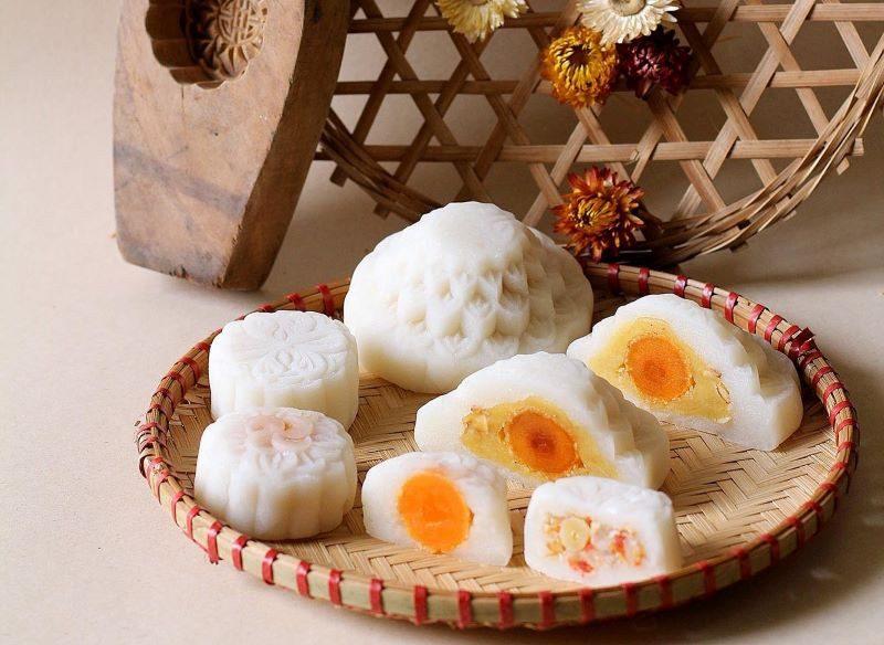 Bánh có hình tròn, tượng trưng cho sự sum vầy.