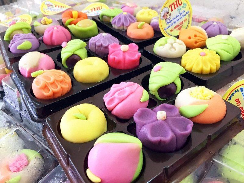 Các loại bánh trung thu handmade