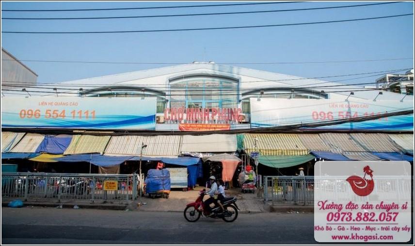 Chợ Minh Phụng (Chợ Cây Gõ)