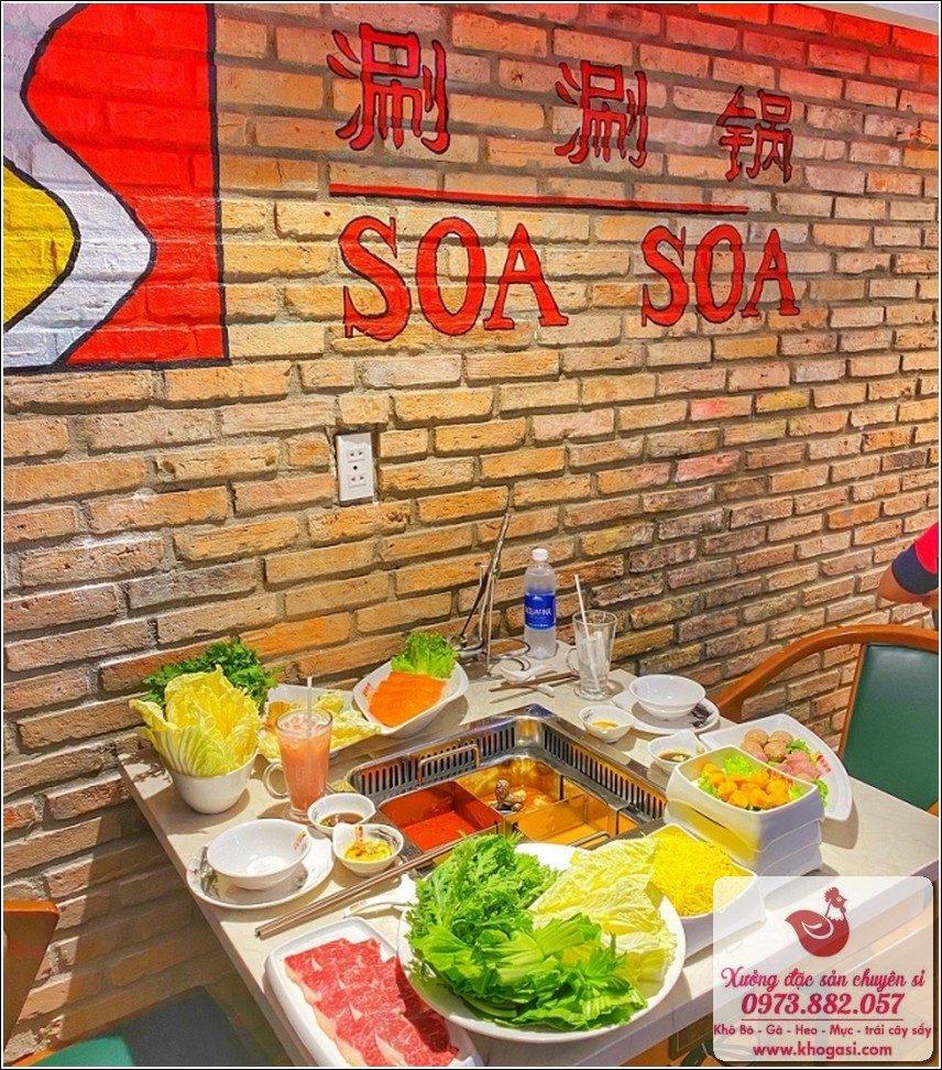 Nhà Hàng Soa Soa – Món Lẩu Ngon Hấp Dẫn Sài Gòn