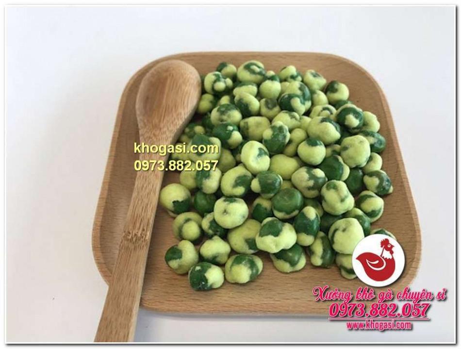 đậu hà lan wasabi