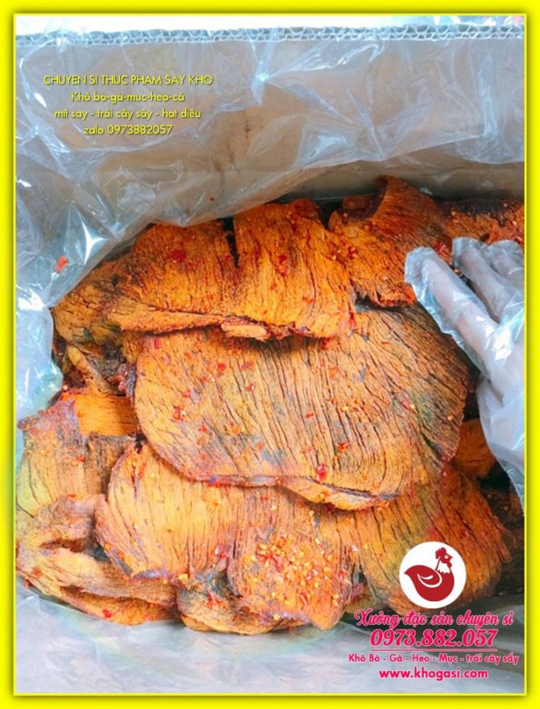 Khô Bò Miếng Giòn Cay