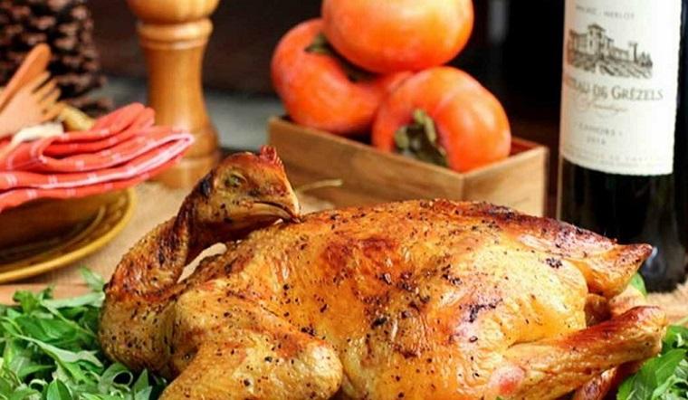 Cách làm gà nướng bằng nồi chiên không dầu đơn giản mà siêu ngon