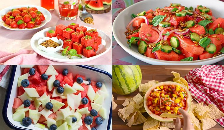 5 cách làm salad dưa hấu ngon dễ làm