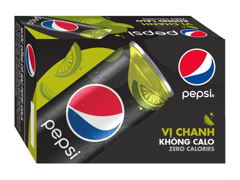 Pepsi không calo vị chanh