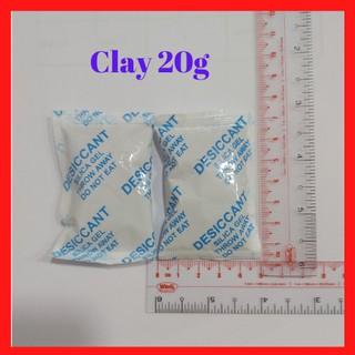 Gói hút ẩm Clay Desiccant 20g