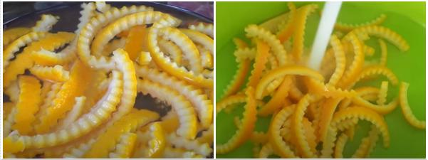 Cách làm mứt vỏ cam dẻo thơm ngon mà không bị đắng - 3