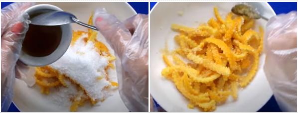 Cách làm mứt vỏ cam dẻo thơm ngon mà không bị đắng - 4
