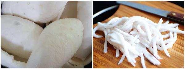 Cách làm mứt dừa đặc, tươi ngon cực đơn giản tại nhà - 1