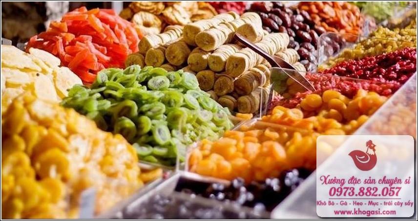 Mứt – Trái cây sấy khô (Đà Lạt) – Đặc sản quanh năm tại Việt Nam