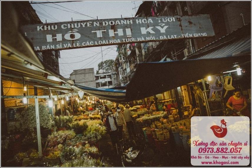 Chợ Hoa Đêm Hồ Thị Kỷ