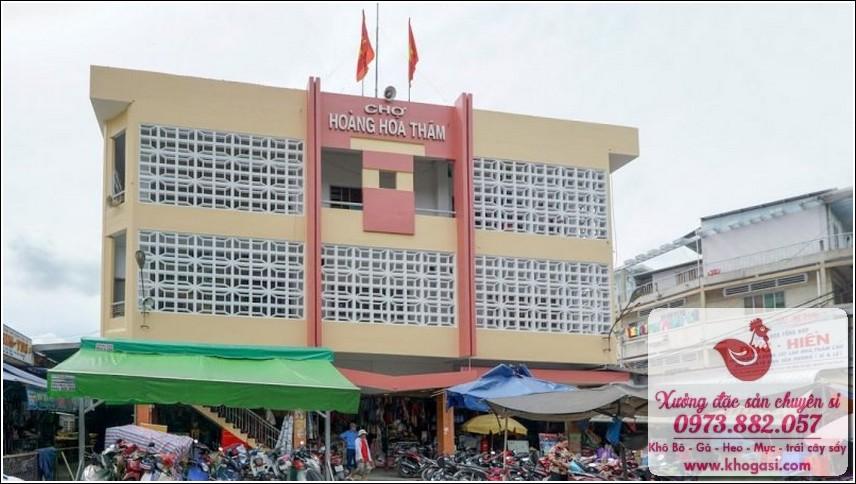 Chợ Đồ Cổ Sài Gòn Chợ Hoàng Hoa Thám