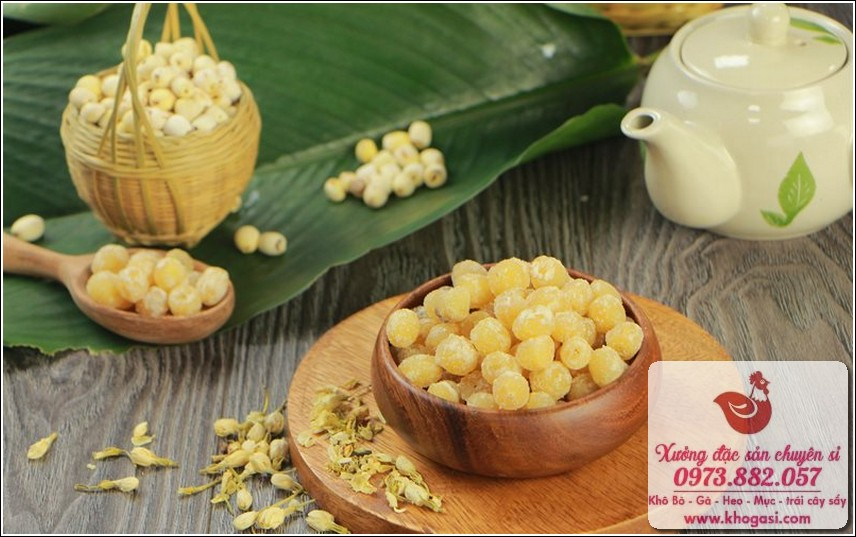Mứt dừa, hạt sen- Đặc sản Việt Nam