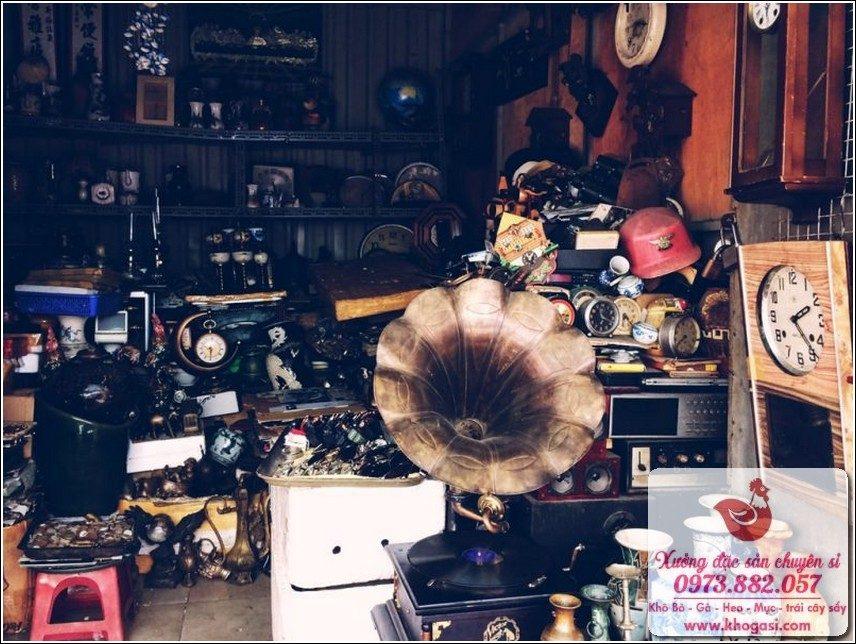 Chợ Đồ Cổ Sài Gòn Chợ Nhật Tảo