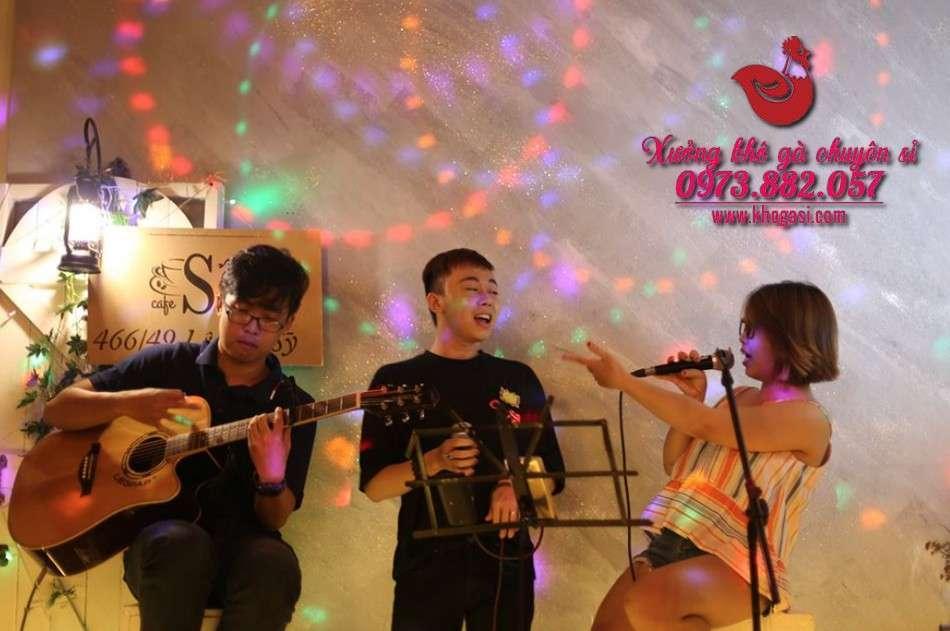 Cà phê nhạc sóng Sài Gòn