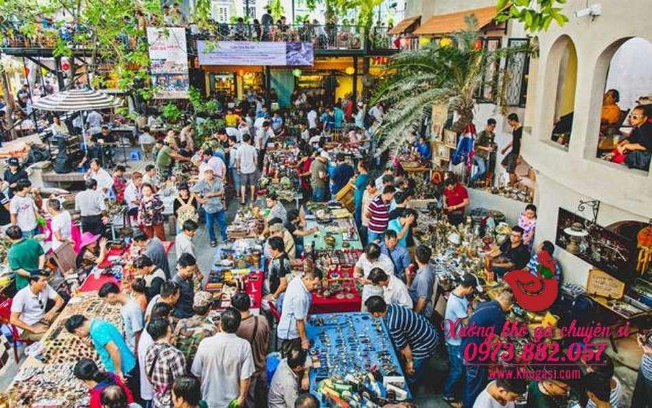 Chợ Đồ Cổ Sài Gòn