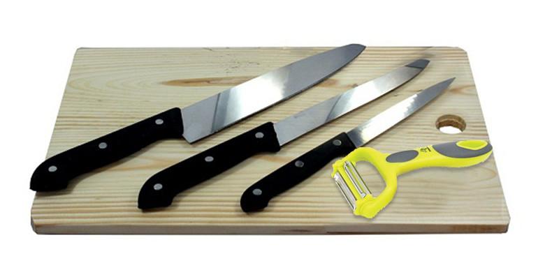 Dụng cụ cắt và gọt bí ngô