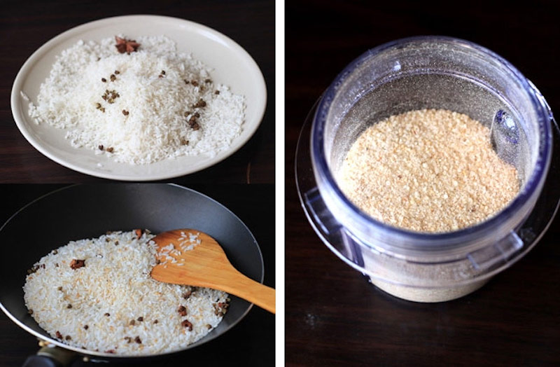 Bạn không nên xay gạo mịn quá